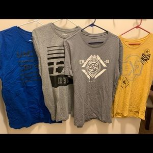 Express Large T Shirt Bundle L Graphic Tee